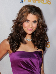 Samantha Harris arrives on the red carpet of the 2010 MTV Movie Awards held at the Gibson Amphitheatre on June 6th 2010 at Universal Studios in California 3