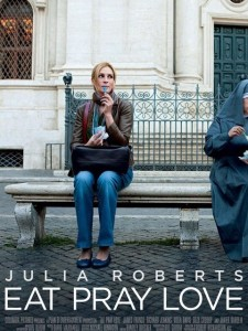 Recent photo shoot of June 2010 for julia roberts new movie Eat Pray Love poster