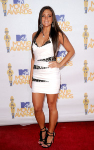 Sammi Giancola arrives on the red carpet of the 2010 MTV Movie Awards held at the Gibson Amphitheatre on June 6th 2010 at Universal Studios in California 1