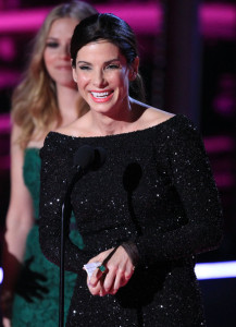 Sandra Bullock on stage during the 2010 MTV Movie Awards held at the Gibson Amphitheatre on June 6th 2010 at Universal Studios in California 1