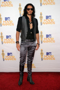 Russell Brand arrives on the red carpet of the 2010 MTV Movie Awards held at the Gibson Amphitheatre on June 6th 2010 at Universal Studios in California 7