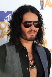 Russell Brand arrives on the red carpet of the 2010 MTV Movie Awards held at the Gibson Amphitheatre on June 6th 2010 at Universal Studios in California 5
