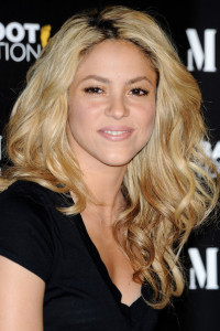 Shakira attends the the new Mango solidarity T Shirts on June 4th 2010 in Madrid Spain 7