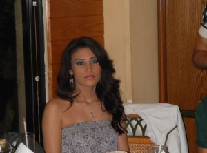 Star Academy 7 final prime after Dinner party picture of Tahra 1