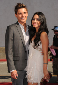 Zac Efron and Vanessa Hudgens arrive at the 2010 MTV Movie Awards held at the Gibson Amphitheatre on June 6th 2010 at Universal Studios in California 4