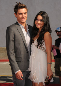 Zac Efron and Vanessa Hudgens arrive at the 2010 MTV Movie Awards held at the Gibson Amphitheatre on June 6th 2010 at Universal Studios in California 5