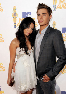 Zac Efron and Vanessa Hudgens arrive at the 2010 MTV Movie Awards held at the Gibson Amphitheatre on June 6th 2010 at Universal Studios in California 6