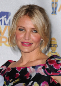 Cameron Diaz arrives at the 2010 MTV Movie Awards held at the Gibson Amphitheatre on June 6th 2010 at Universal Studios in California 1