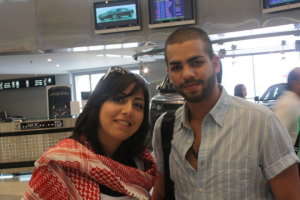 Mohamad Ramadan picture from his arrival at Jordanian Airport 8