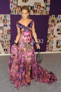 Sarah Jessica Parker arrives at the 2010 CFDA Fashion Awards at Alice Tully Hall at Lincoln Center on June 7th 2010 in New York City 4