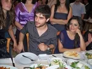 Nassif Zeitoun new photo at the finale prime after party dinner with Zena Aftimos