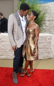 Will Smith and his wife Jada Pinkett Smith attend the Karate Kid LA premiere held on June 7th 2010 at the Mann Village Theatre 2