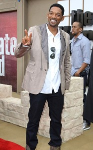 Will Smith attends the Karate Kid LA premiere held on June 7th 2010 at the Mann Village Theatre