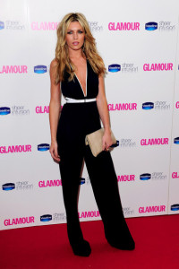 Abigail Clancy arrives at the 2010 Glamour Magazines Women of The Year Awards held on June 8th 2010 at Berkeley Square gardens in London 5