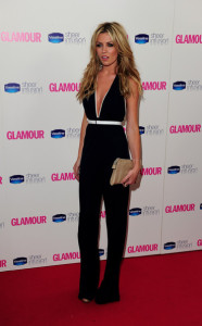 Abigail Clancy arrives at the 2010 Glamour Magazines Women of The Year Awards held on June 8th 2010 at Berkeley Square gardens in London 2