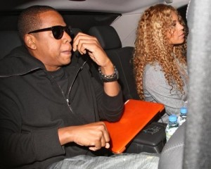 Beyonce Knowles and Jay Z spotted out on June 8th 2010 in London England 2