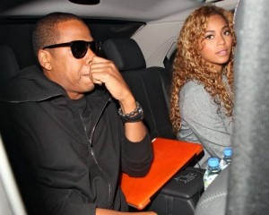 Beyonce Knowles and Jay Z spotted out on June 8th 2010 in London England 1