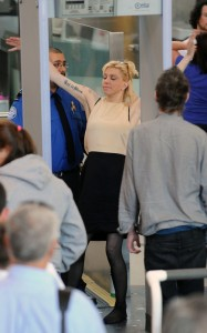 Courtney Love seen as at a security check in LAX Airport on June 8th 2010 in Los Angeles 4