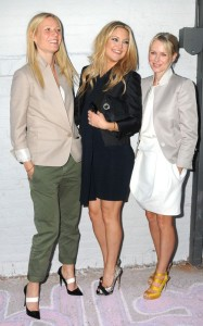Gwyneth Paltrow seen with Kate Hudson and Naomi Watts at the Stella McCartney 2011 Spring Presentation on June 8th 2010 in the West Village of New York 2