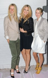 Gwyneth Paltrow seen with Kate Hudson and Naomi Watts at the Stella McCartney 2011 Spring Presentation on June 8th 2010 in the West Village of New York 4