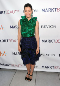 Jessica Biel attends the launch of MARKTBeauty at The Penthouse at Smyth Hotel Tribeca on June 8th 2010 in New York City 4