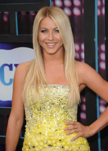 Julianne Hough arrives at the 2010 CMT Music Awards at the Bridgestone Arena on June 9th 2010 in Nashville Tennessee 1