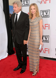 Calista Flockhart and Harrison Ford arrive at the 38th AFI Life Achievement Award honoring Mike Nichols held at Sony Pictures Studios on June 10th 2010 in Culver City California 4
