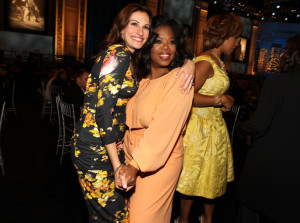 Julia Roberts and Oprah Winfrey at the 38th AFI Life Achievement Award honoring Mike Nichols held at Sony Pictures Studios on June 10th 2010 in Culver City California 3