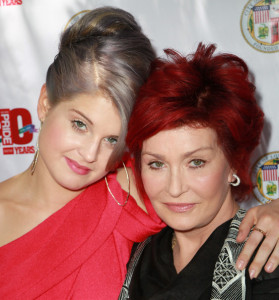 Kelly and Sharon Osbourne attend a garden party at Getty House on June 6th 2010 in Los Angeles California 4