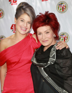 Kelly and Sharon Osbourne attend a garden party at Getty House on June 6th 2010 in Los Angeles California 1