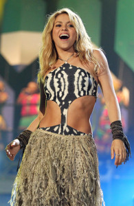 Shakira sings live at the FIFA World Cup Kick Off Celebration Concert held on June 11th 2010 at the Orlando Stadium in Soweto South Africa 3