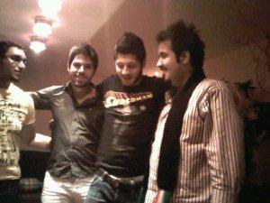 Star Academy season 7 student Abdul Aziz from Kuwait along with Rayan Eid and Jack Haddad together
