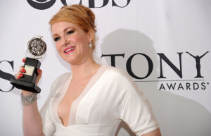 Katie Finneran poses with her award at the 64th Annual Tony Awards at The Sports ClubLA on June 13th 2010 in New York City 4