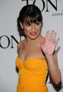 Lea Michele arrives at the 64th Annual Tony Awards at The Sports ClubLA on June 13th 2010 in New York City 6