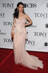 Lucy Liu attends the 64th Annual Tony Awards at The Sports ClubLA on June 13th 2010 in New York City 2