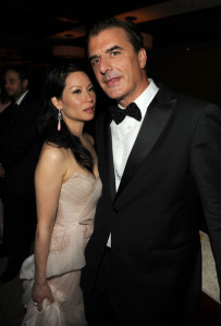 Lucy Lui and Chris Noth attend the 64th Annual Tony Awards at The Sports ClubLA on June 13th 2010 in New York City 1