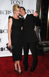 Melanie Griffith and Antonio Banderas attend the 64th Annual Tony Awards at The Sports ClubLA on June 13th 2010 in New York City 3