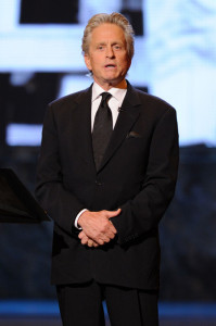 Michael Douglas speaks onstage during the 64th Annual Tony Awards at The Sports ClubLA on June 13th 2010 in New York City 3