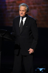Michael Douglas speaks onstage during the 64th Annual Tony Awards at The Sports ClubLA on June 13th 2010 in New York City 4