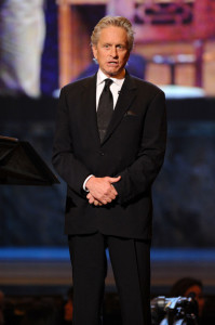 Michael Douglas speaks onstage during the 64th Annual Tony Awards at The Sports ClubLA on June 13th 2010 in New York City 1