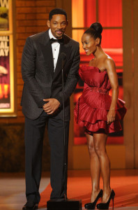 Will and Jada Pinkett Smith speak onstage during the 64th Annual Tony Awards at The Sports ClubLA on June 13th 2010 in New York City 1