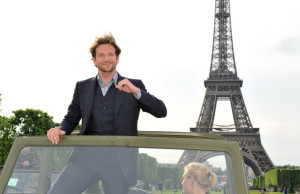 Bradley Cooper attends a photocall for the Joe Carnahans film Lagence Tous Risques on June 14th 2010 in Paris 1