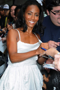 Jada Pinkett Smith seen on June 14th 2010 outside of the Ed Sullivan Theatre before appearring on The Late Show With David Letterman show 4