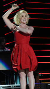 Kellie Pickler performs during the 2010 CMA Music Festival on June 13th 2010 in Nashville Tennessee 2