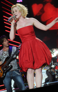 Kellie Pickler performs during the 2010 CMA Music Festival on June 13th 2010 in Nashville Tennessee 3
