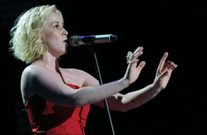 Kellie Pickler performs during the 2010 CMA Music Festival on June 13th 2010 in Nashville Tennessee 5