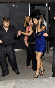Nicole Scherzinger seen on June 12th 2010 as she attends a Grand Prix party  in Montreal Canada 3