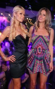 Paris Hilton and her sister Nicky seen together on June 12th 2010 at PURE Nightclub in Las Vegas 3