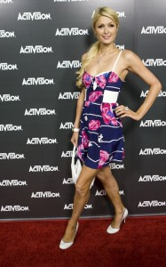 Paris Hilton spotted at the Activision Kick Off Party for E3 on June 14th 2010 at the Staples Center in Los Angeles 4