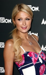 Paris Hilton spotted at the Activision Kick Off Party for E3 on June 14th 2010 at the Staples Center in Los Angeles 5